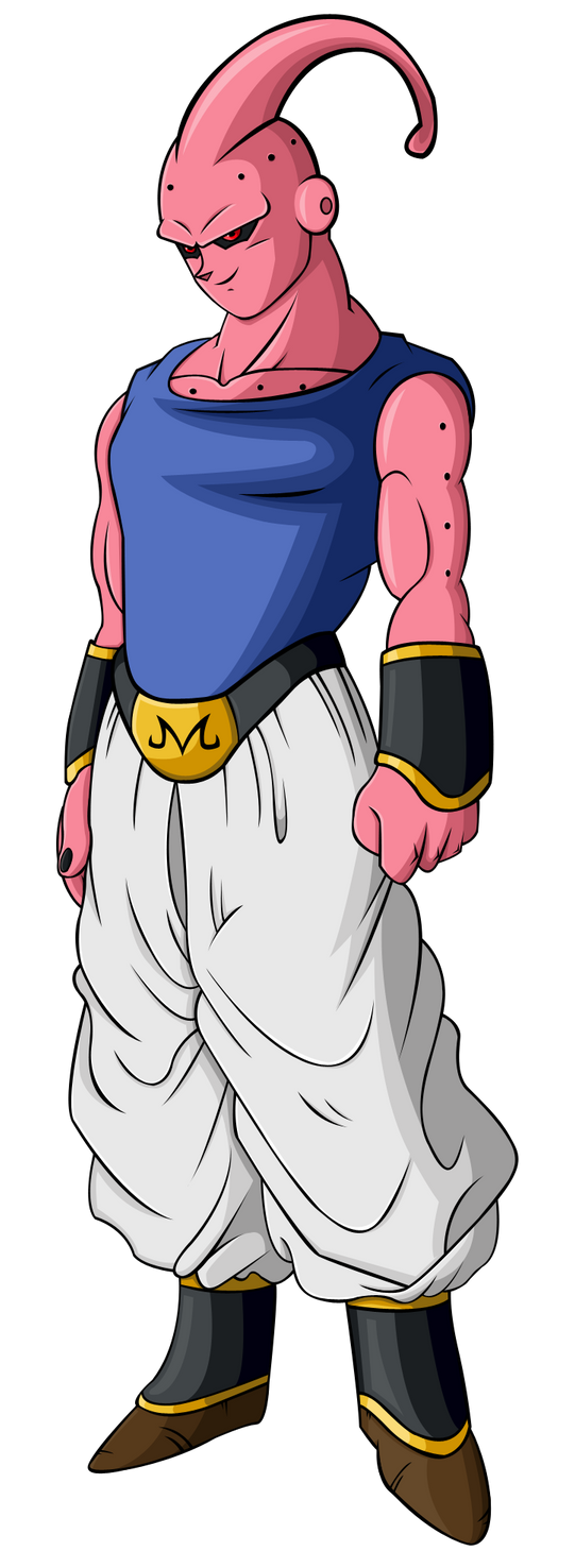 how to draw super buu gotenks absorbed