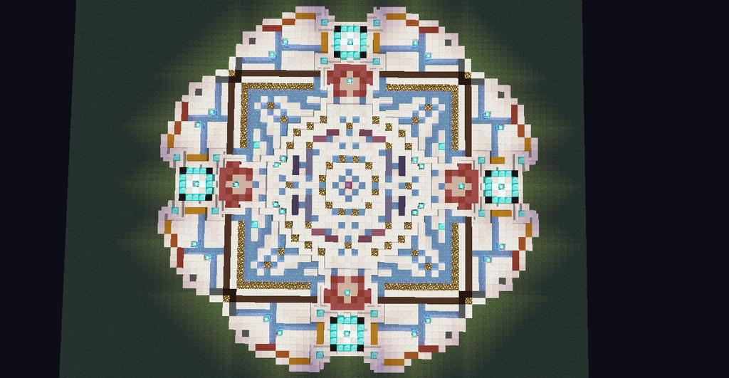 Minecraft floor design 7 four leaf clover by jaray123 for Minecraft floor designs