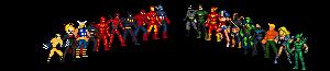 Marvel vs. DC Smash Mockup complete roster by ZiggytheNinja
