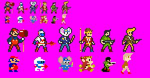Arcade Heroes by ZiggytheNinja