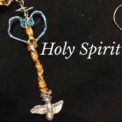 Holy Spirit: mini mini keyblade by DragonQueen33
