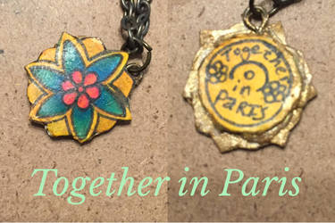 Anastasia's together in Paris necklace by DragonQueen33
