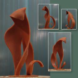 Feline grace by Patchco