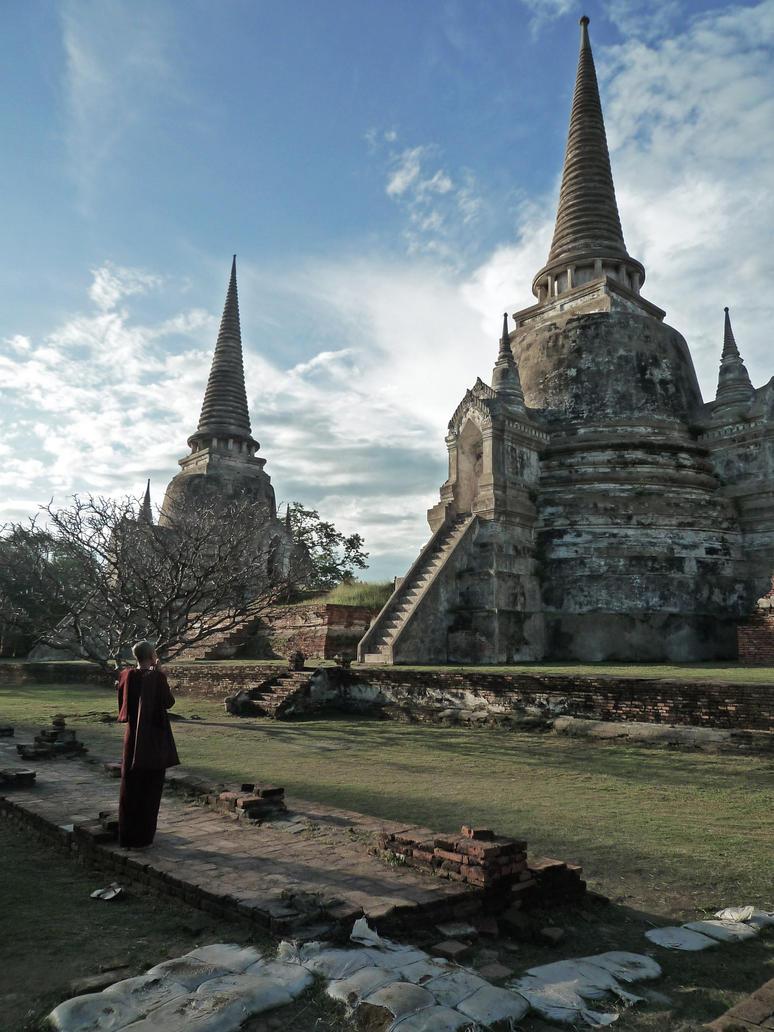 Ayutthaya by R4C00Nart