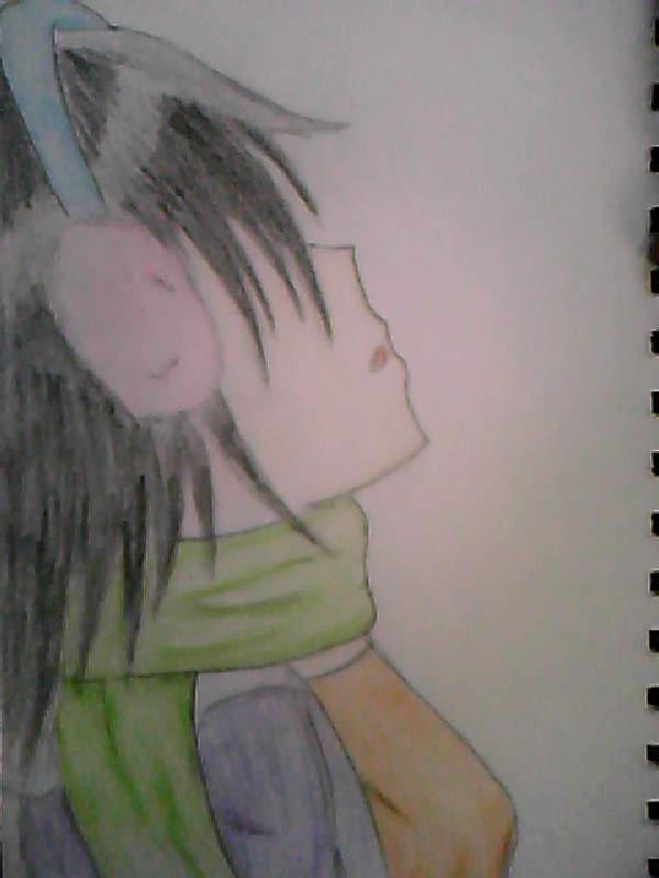 A Girl by Firewolf667