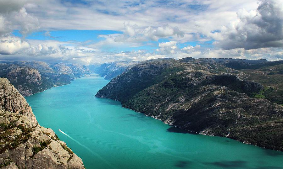 Lysefjord3 by Gehoersturz