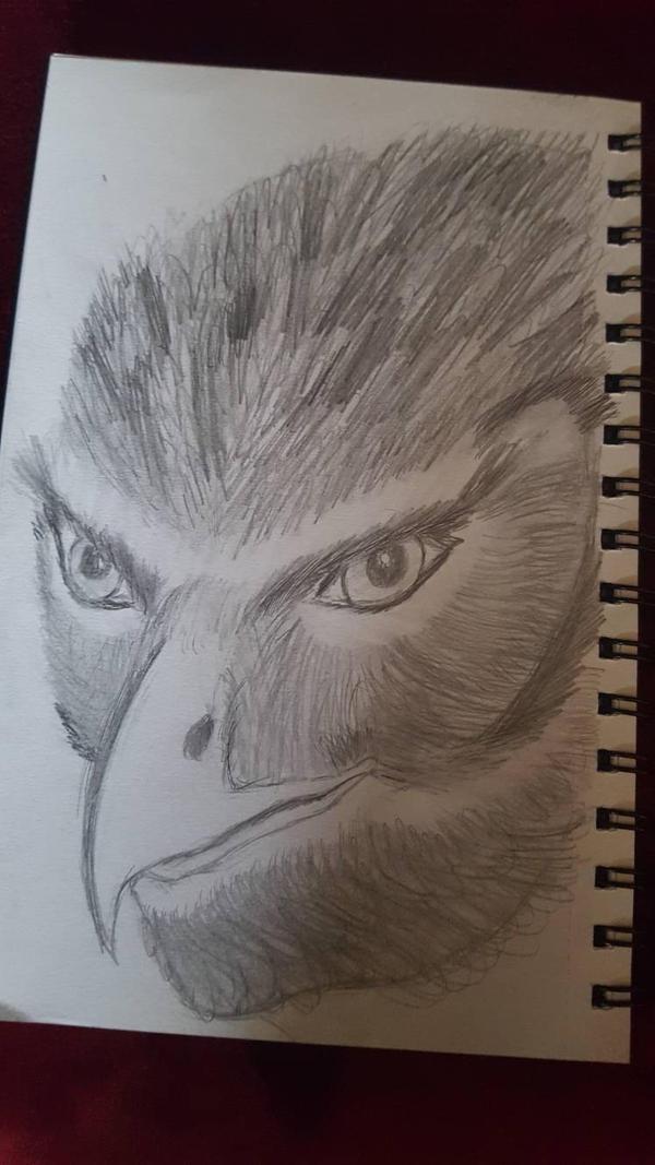 Lucius Khan - 1st Sketch