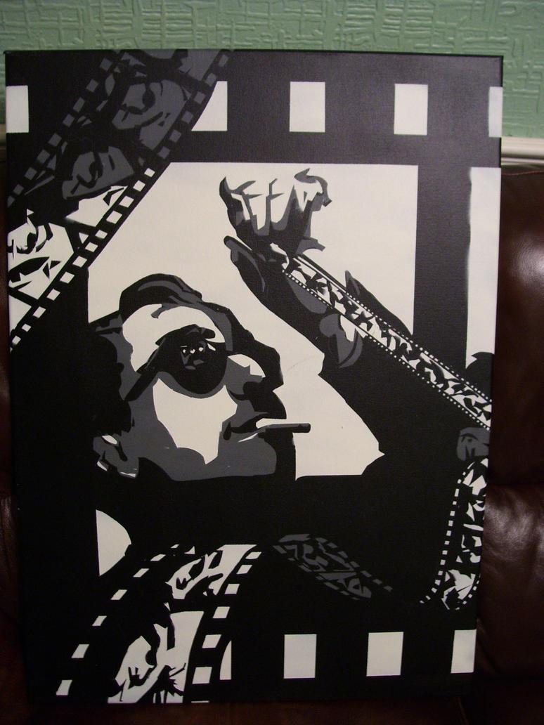 Jean-Luc Godard by Zombie-Pacman