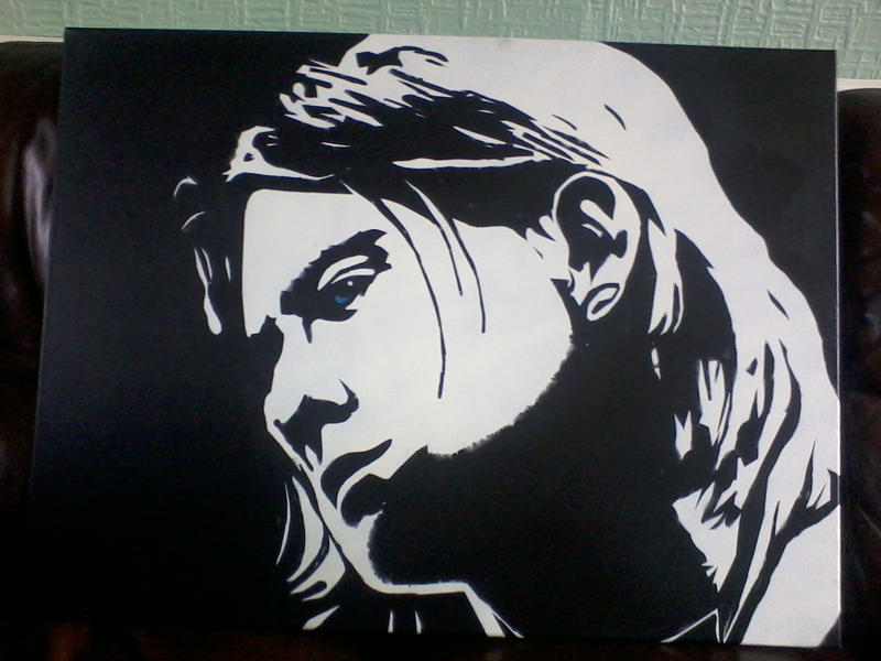 Kurt Cobain, 1 (and a bit) layers by Zombie-Pacman