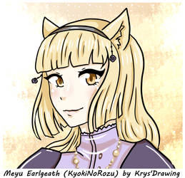Meyu Earlgeath by KrysDrawing