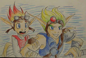 OMG WATCH OUT JAK by Demyrie
