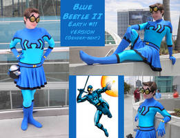 Blue Beetle II Costume