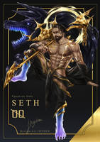 [OPEN] Adoptable Auction - Egyptian God Seth 00 by iHYDEN