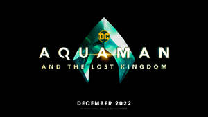 AQUAMAN AND THE LOST KINGDOM LOGO 2022