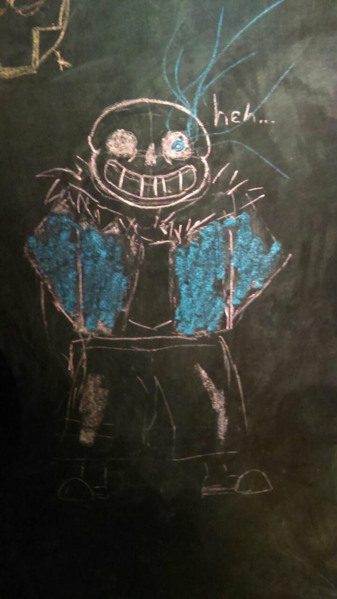 Gonna have a chalk time by Darkstar293