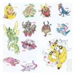 buncha Pokemons