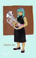 CON / / / Madeleine's Euphonium by Luluugah