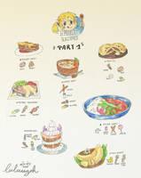 F / / / Hyrule Recipes / Part 1 by Luluugah