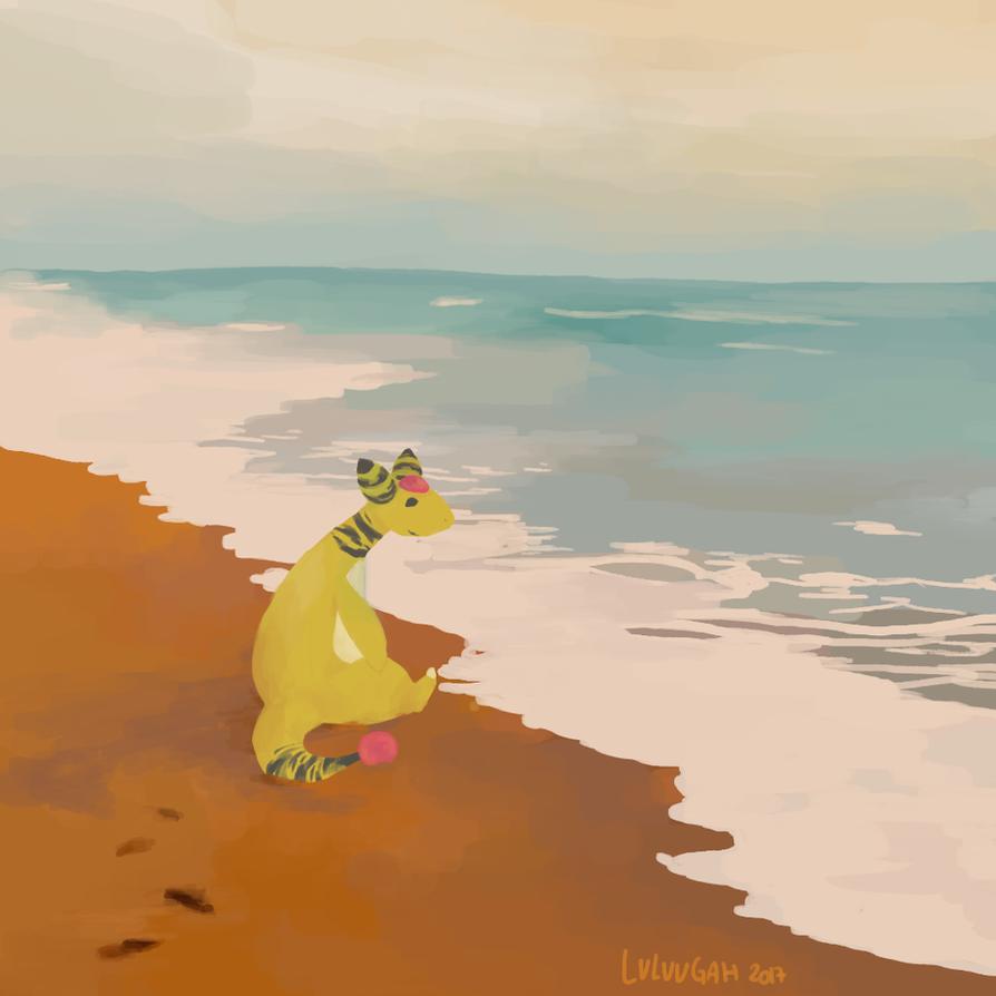 F / / / Beach break by Luluugah
