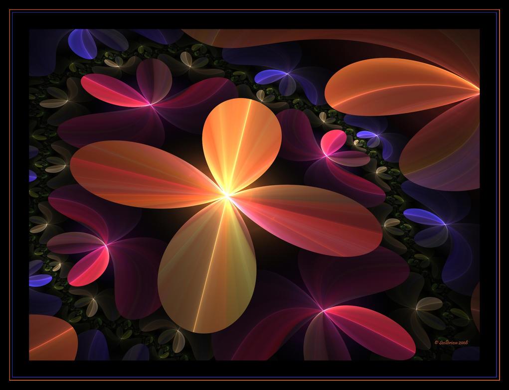 Night Garden by Szellorozsa