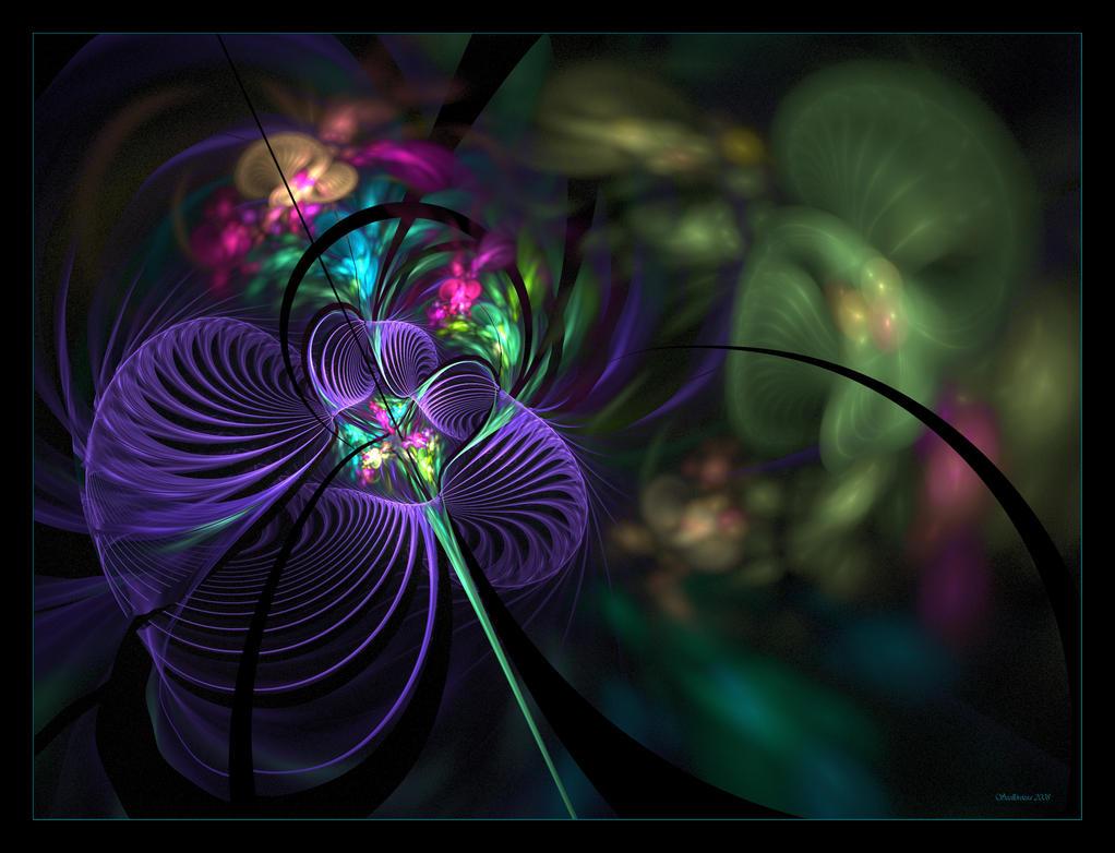 Memory of my  Garden by Szellorozsa