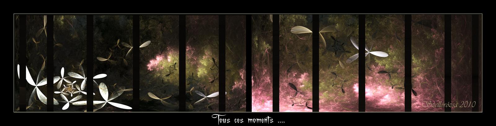 Tous ces moments... by Szellorozsa