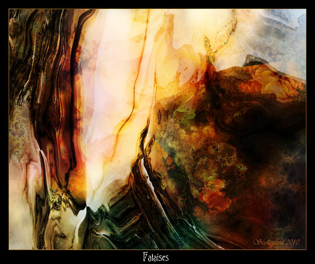 Falaises by Szellorozsa