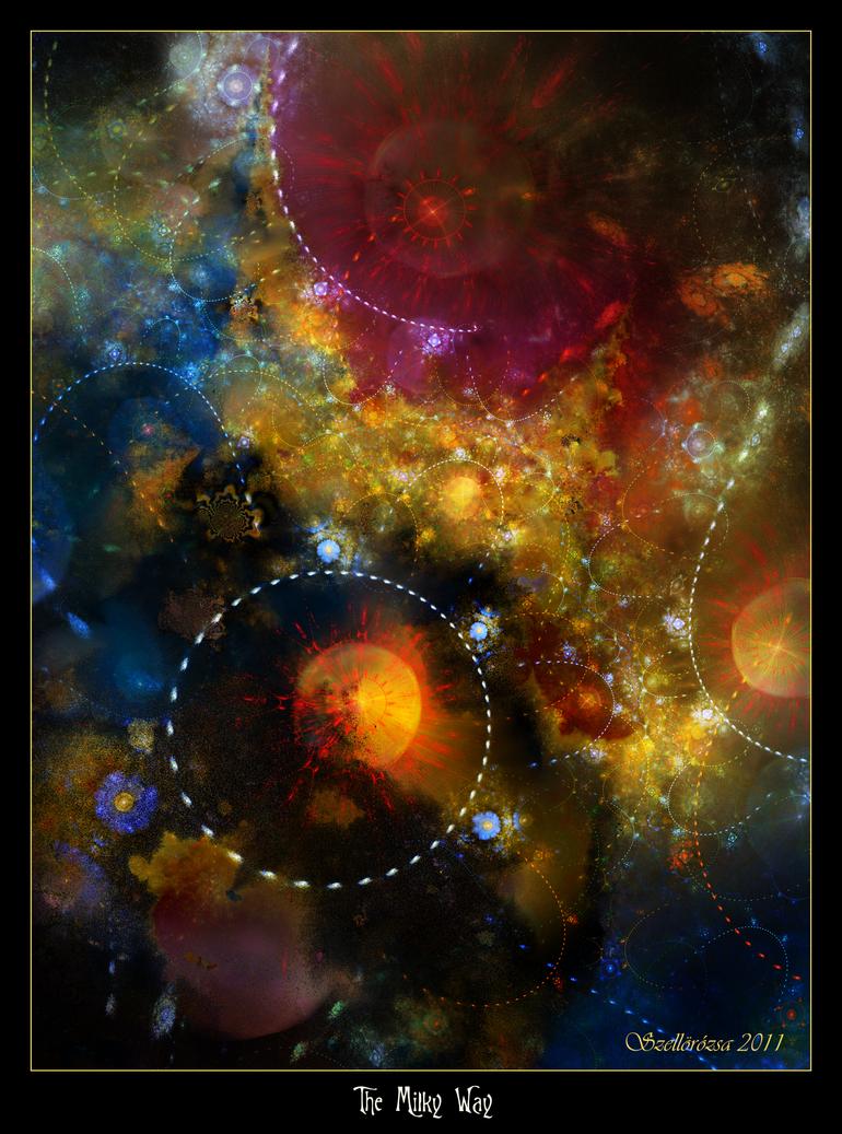 The Milky Way by Szellorozsa