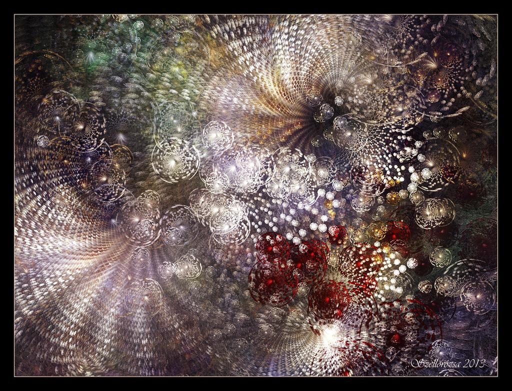 Galactic Dance by Szellorozsa