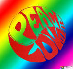 Peace Love yinyang