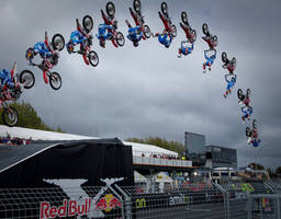 Red Bull X fighters by nIckrEed