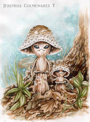 Enchanted Mushroom by jeremiascolmenares