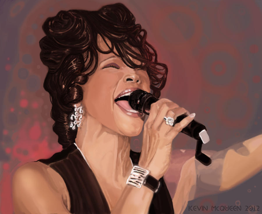 Whitney Houston by KaiserSosa9999