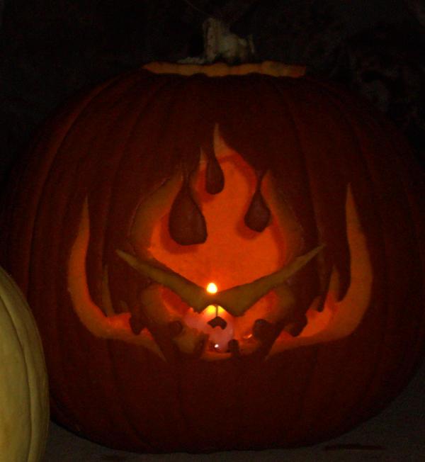 Tengen Toppa Gurren Pumpkin by MarshmallowInvader