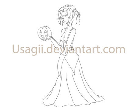WHR Halloween Lineart