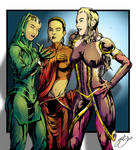 The Ladies of Celflux by gemgfx