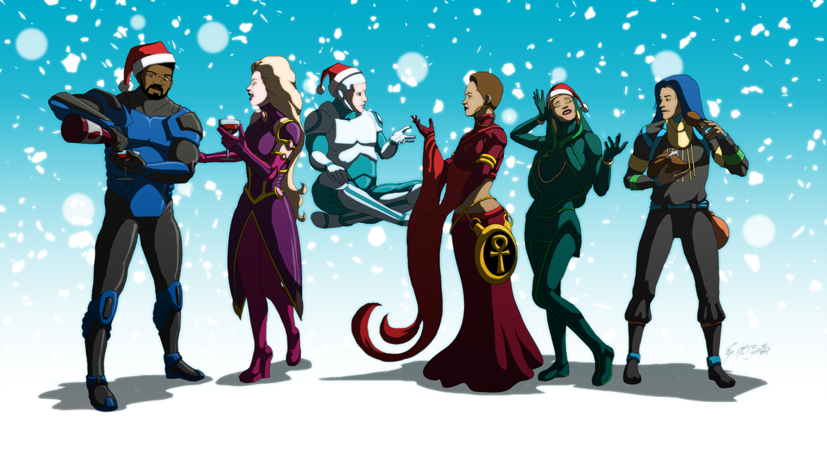 Happy Holidays From Celflux by gemgfx