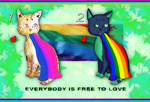 (OPEN) Free Pride Cats Adoptables batch by AdoptablesYeah