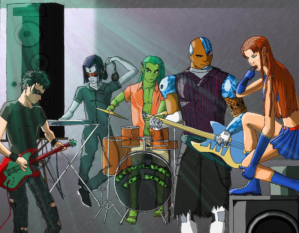 Image result for teen titans on deviantart