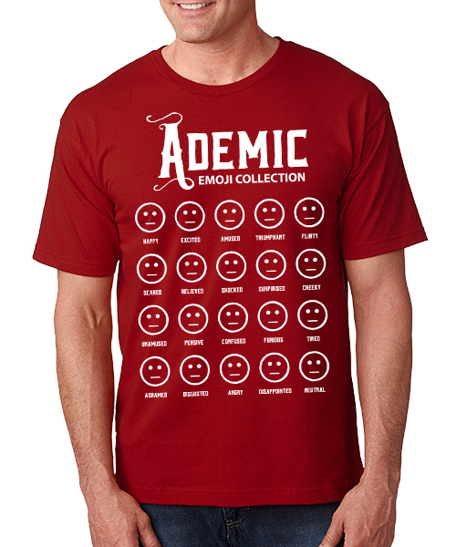 Shirt Ademic by Kvothe