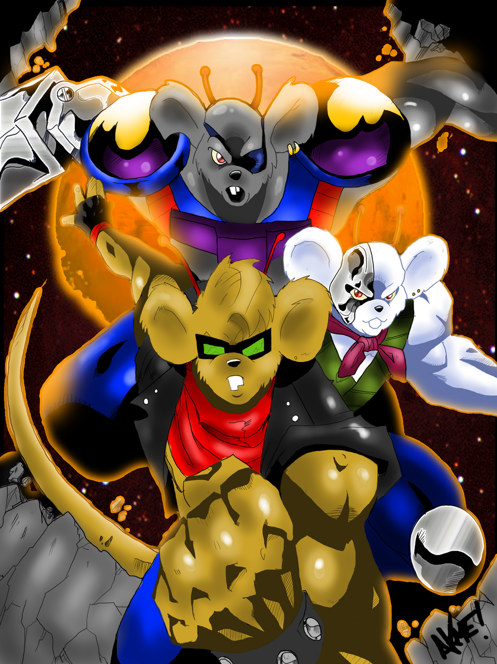 biker mice from mars as female - photo #49