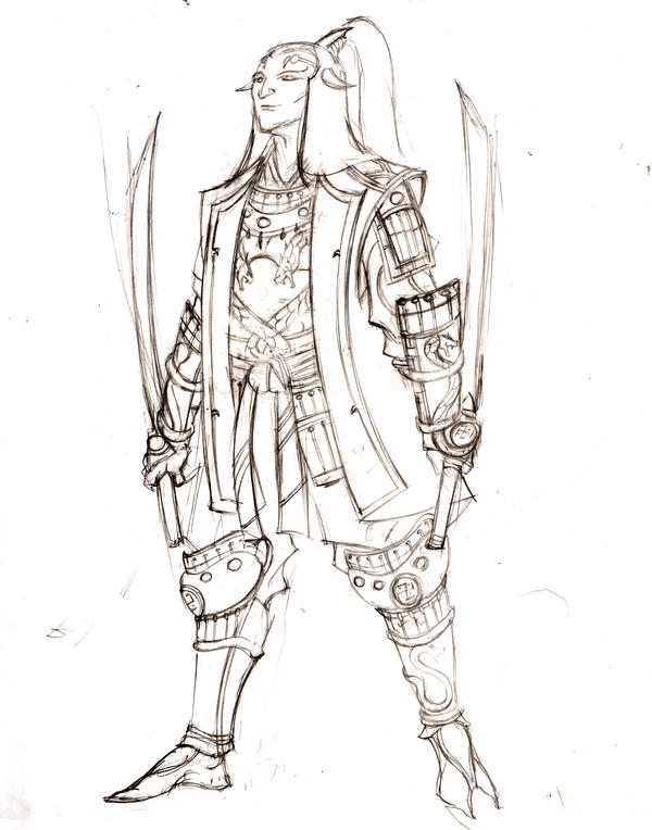 demon samurai design 3 by olodumare on deviantart