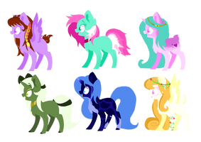 little pony adopts :3 -close by Miniaru