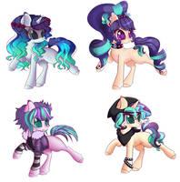 ponies for misscurio by Miniaru