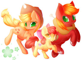Apples by Miniaru