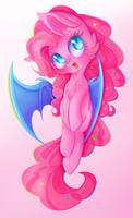 This Pink Bat by Miniaru