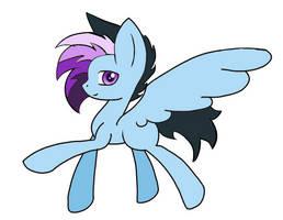 Purple Plated Pegasus by Miniaru