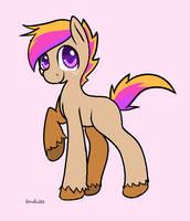 Shorbert Earth Pony by Miniaru