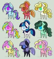little pony adopts - closed by Miniaru