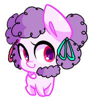 Curly Doodle Poodle Pony by Miniaru
